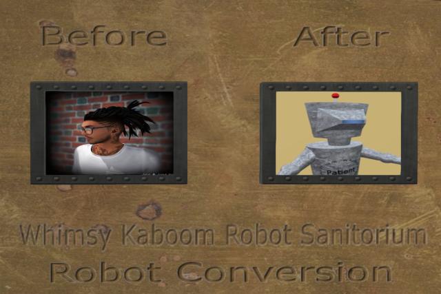 Bots man to robot