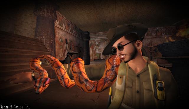 egypt snake me