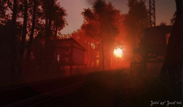 Bayou sunset 1